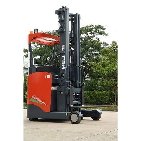 Xe nâng điện Reach Truck đứng lái 1.5 tấn Heli GC2R