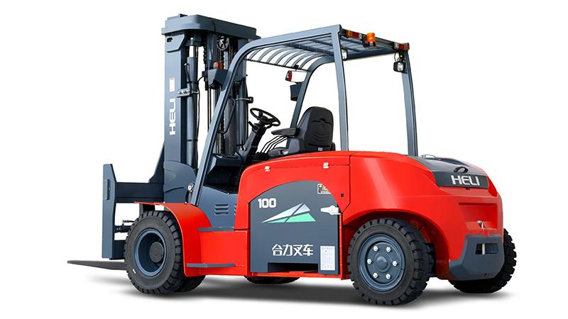 Xe nâng điện ngồi lái 9-10 tấn