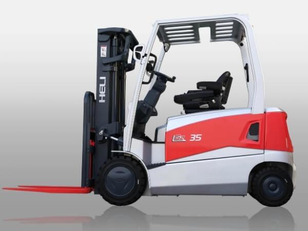 Kiểu dáng xe nâng điện lithium 3.5 tấn g2 series