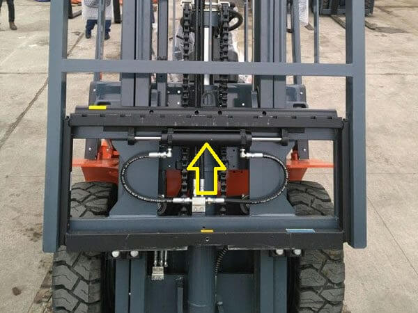 Xe nâng lắp bộ dịch giá side shifter
