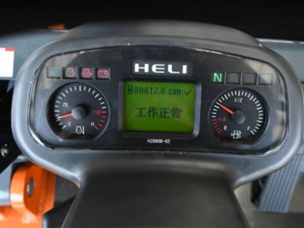 đồng hồ hiển thị xe nâng heli