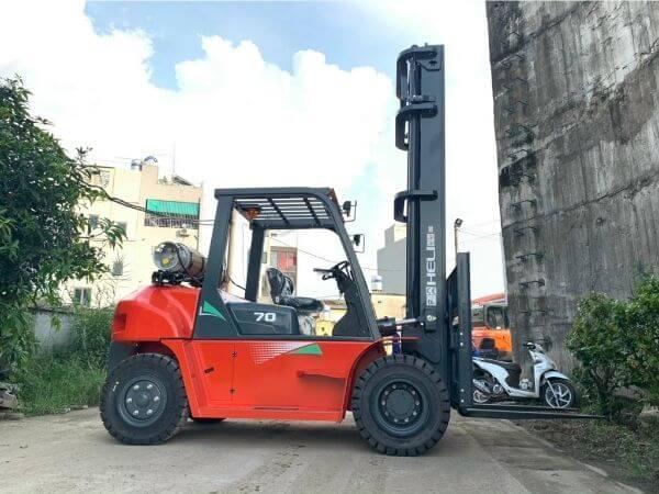 Xe nâng xăng ga 1-10 tấn