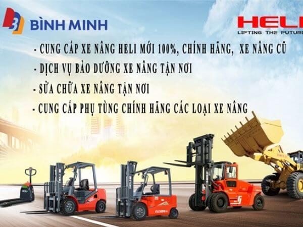 Bình Minh cung cấp xe nâng heli tại Việt Nam